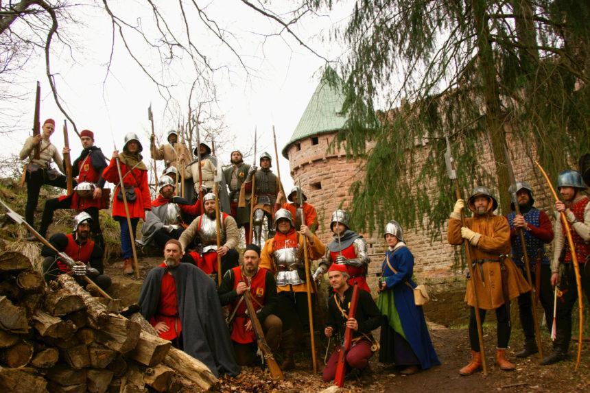 The Company at Haut-Koenigsbourg