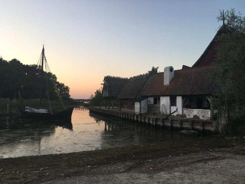 Medieval center Nykobing